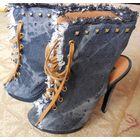 Джинсовые босоножки-ботиночки Queen 36р-рЗ