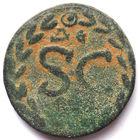 ЭЛАГАБАЛ (218-222 г.) СИРИЯ. АНТИОХИЯ НА ОРОНТЕ. АЕ19.