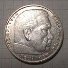 5 марок, 1935А, Гинденбург, третий рейх.
