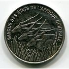 ЦЕНТРАЛЬНАЯ АФРИКА - 100 ФРАНКОВ 1996