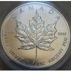35. Канада 5 долларов 2013 год, 1 унция серебра