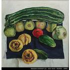 Бабушкин натюрморт(2).    холст,масло,рама