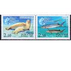 2003 Россия-Иран 886-887 Фауна Сохраним природу Каспийского моря. Совм.выпуск. **