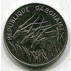 ГАБОН - 100 ФРАНКОВ 1985 !!!