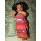 Африканская принцесса   Кукла коллекционная фарфор Европа 25 см роста Девочка