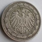 Германия, 20 пфеннигов 1890 года, А-А