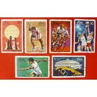 Куба. Спорт. ( 6 марок ) 1969 года.