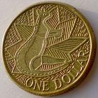 Австралия, 1 доллар 1988 года, KM#100, Кенгуру. 200-летие образования первой британской колонии в Австралии
