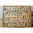 140 оригинальных знаков по ВВС СССР и ГА СССР. Много редких с международных авиа выставок и авиа салонов.