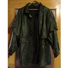 Куртка кожанная женская, б/у, р-р 52-56, длинная. Пр-во Турция, отличное качество, нет ни потертостей, ни трещин, ни дыр. Куртка сравнительно теплая