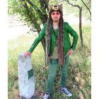 Куртка зелёная приталенная Night Elf (Финляндия - Китай) L SIZE