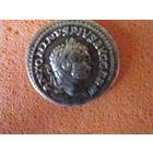 Древний античный Рим. Император Каракалла (211-217годы правления). Денарий, серебро.
