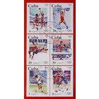 Куба. Спорт. ( 6 марок). 1983 года.