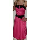 Эффектное платье на р. 42 изумительный цвет фуксии, стрейтч. Хлопок. Турция