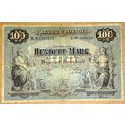 Бавария 100 марок 1900г -редкая-