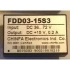FDD03-15S3. DC-DC преобразователь, конвертер