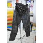 Мото брюки из толстой,мягкой кожи из 90-х. ШВЕДСКИЕ-см.этикетки! р 56. Куплены ещё в ФРГ.