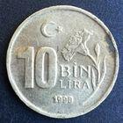 Турция, 10000 лир 1998