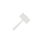 Ткань блестящая, эластичная, синяя, обрезок Д82хШ41хШ30см. СШК.