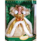 Кукла Барби_Barbie Happy Holidays от Mattel_1994_год_Коллекционный выпуск, серия Happy Holidays_НОВАЯ_В упаковке!