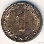 1 пфенниг, Германия (ФРГ), 1986 (J)