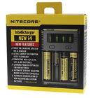 Зарядное устройство Nitecore Intellicharger NEW i4 (4 аккумулятора) для Li-ion/Ni-MH/Ni-Cd аккумуляторов типоразмера: 18650/17670/18490/17500/A A/AAA и др