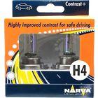 Комплект автоламп NARVA 48583 H4 CONTRAST+