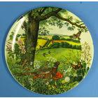 Два фарфоровых панно от всемирно известного производителя фарфоровой посуды Wedgwood (Англия).