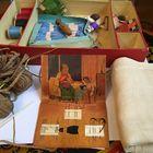 Набор для вышивания плюс книга 1954 год торг