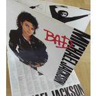 1059. Michael Jackson. Bad. 1987. Epic (NL, FOC, OiS with Lyrics) = 20$