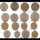 Монеты России 1991-93г. (разные года и монетные дворы)