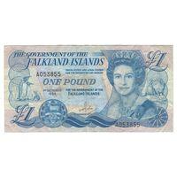 Фолклендские острова 1 фунт 1984 года. Редкая!