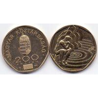 Венгрия, 200 форинтов 2000 года. Миллениум.
