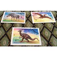 Динозавры на марках Казахстана