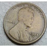 США 1 цент 1924S