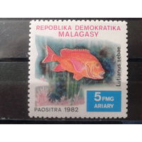 Магадаскар 1982 Рыба**
