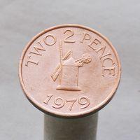 Генрси 2 пенса 1979
