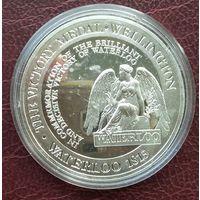 Тристан да Кунья. 1 крона 2015. 200 лет битве под Ватерлоо.