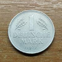 """Германия 1 марка, 1977 """"J""""_РАСПРОДАЖА КОЛЛЕКЦИИ"""