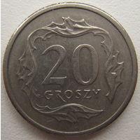 Польша 20 грошей 1991 г.