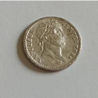 Десятая часть франка 1808 г Наполеон Бонапарт трофейные