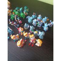 Игрушки фигурки из киндеров от Disney McDonald's 1993-2001 гг