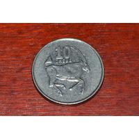 Ботсвана 10 тхебе 1998