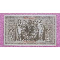 1.000 Марок -1910- ГЕРМАНИЯ -*-AU-практически идеальное состояние-