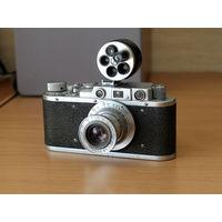 Фотоаппарат Зоркий 1950 г. коллекционный, номер 29777