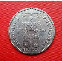 97-23 Португалия, 50 эскудо 1988 г.