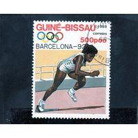 Гвинея-Биссау.Спорт.Легкая атлетика.Олимпийские игры.Барселона.1992.