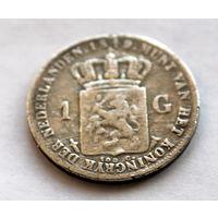 1 ГУЛЬДЕН 1849 РЕДКОСТЬ