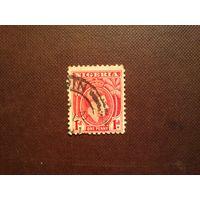 Британская Нигерия 1938 г.Георг -VI.