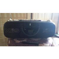 Аудиокассетник-радио